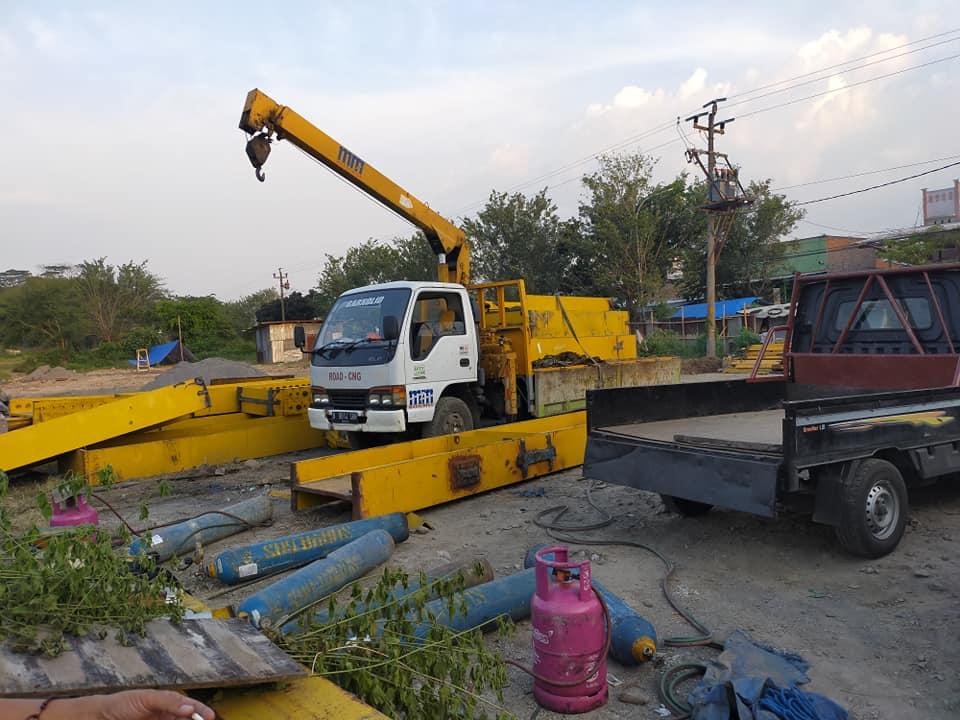 jasa rental sewa crane termurah di semarang